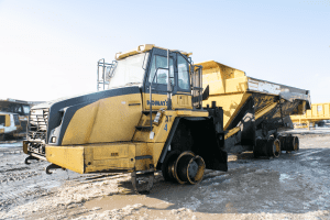 Komatsu HM400-3 Skates In To Our Shop - Midwest Industrial Sales